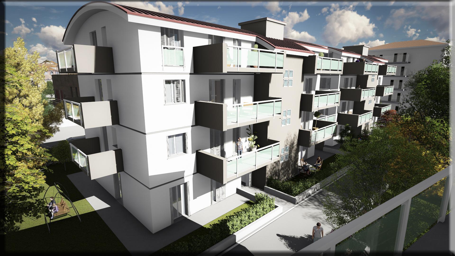 Bergamo green village progetto di unit abitative per for Offerte lavoro bergamo subito