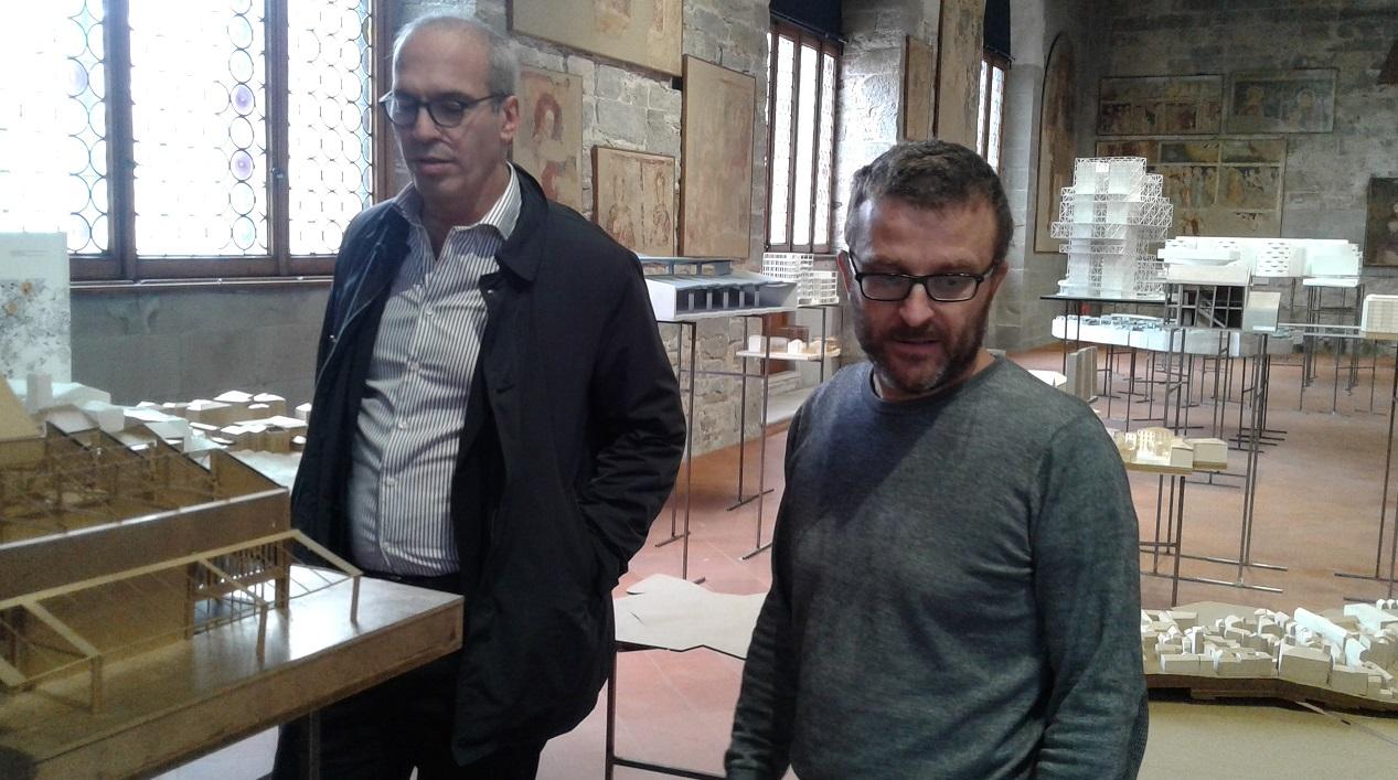Architetti A Bergamo mostra «bergamo città e paesaggio» al palazzo della ragione